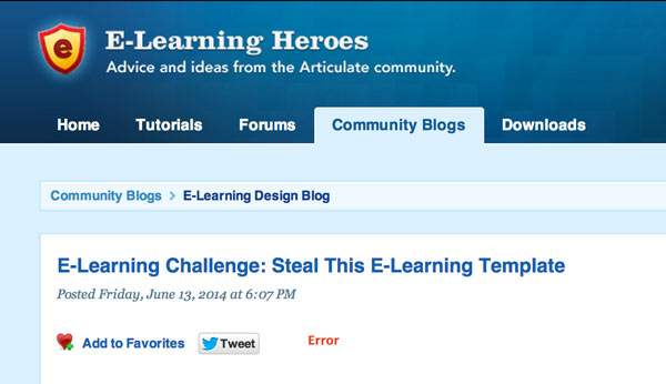 elearning heroes - Design resources