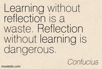 Quotation Confucius reflection learning