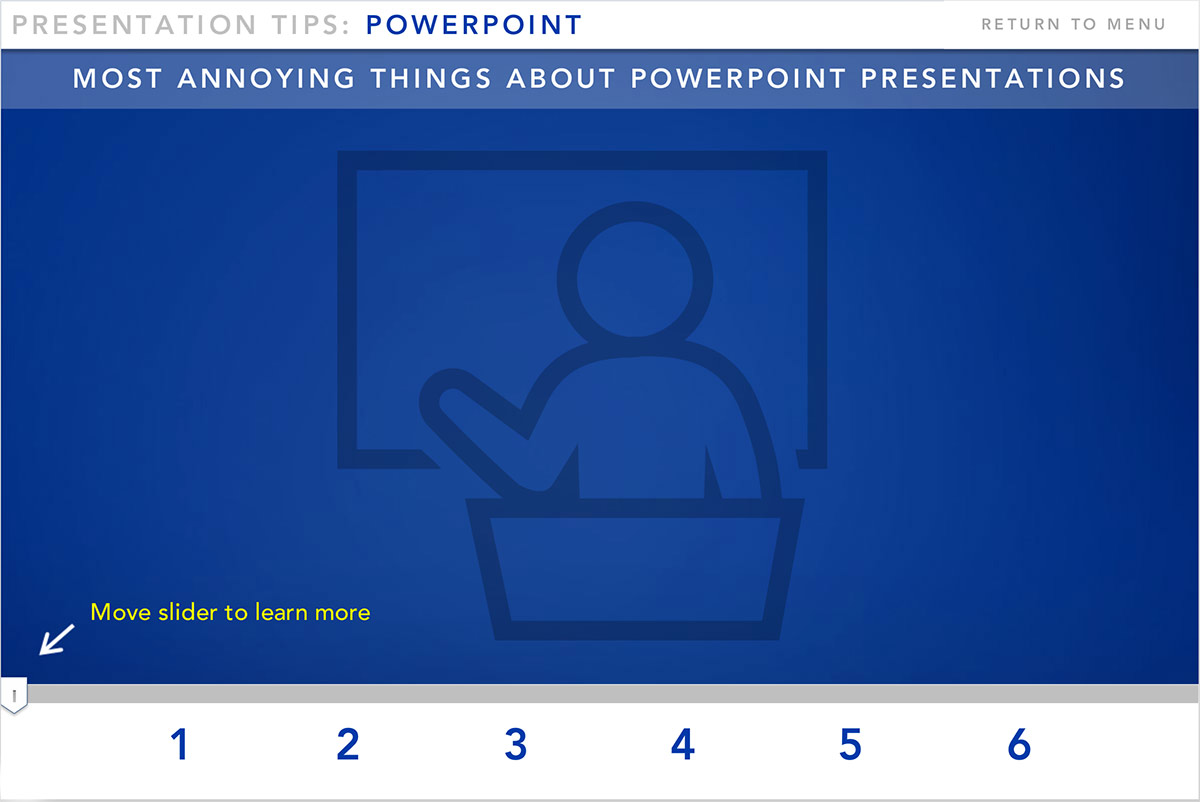 Annoying Powerpoint Design