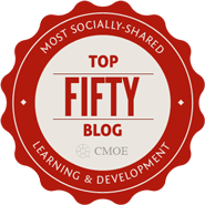 50 Most Shared Learning Blogs Badge.png