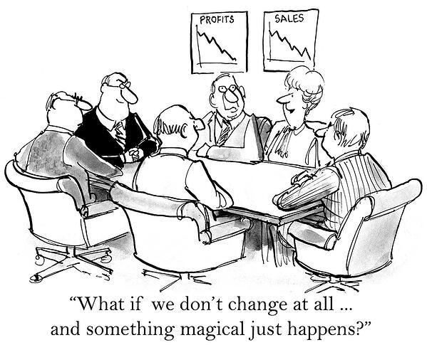 Cartoons In Change Management