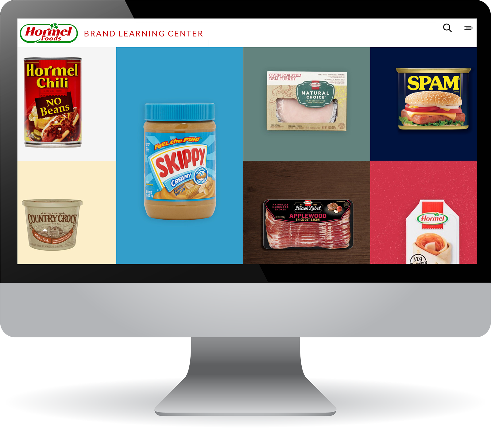 Hormel Learning Portal Home Screen-1.png