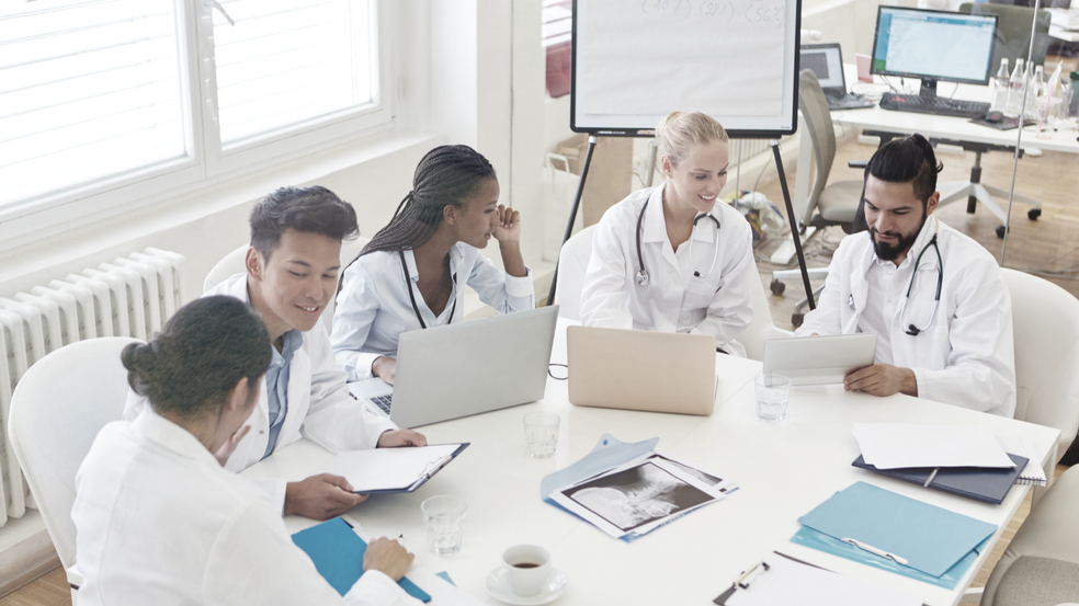 blended learning in healthcare training programs