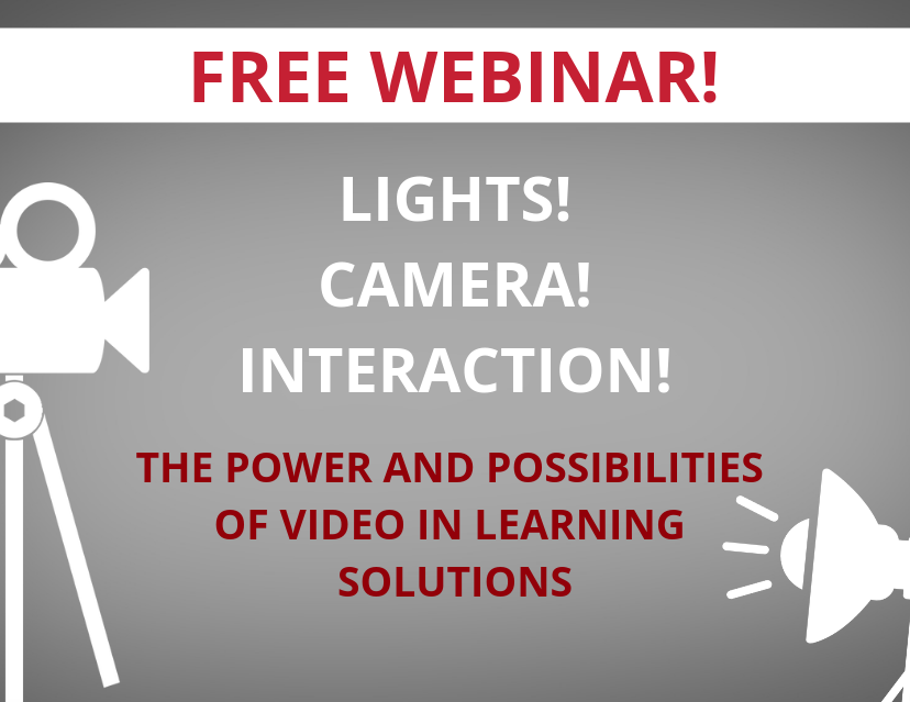 Video In Learning Solutions Webinar