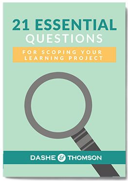 21 Essential Questions Mockup