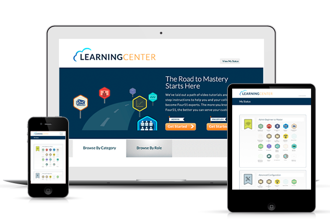 the learning center portal
