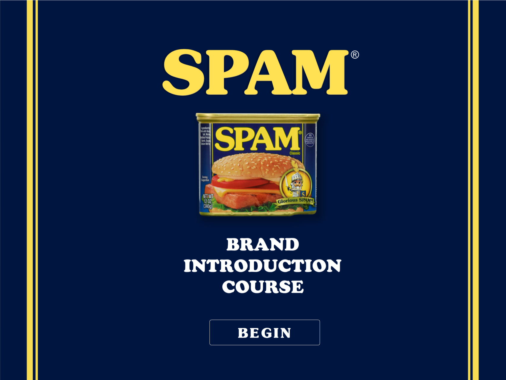 Spam Product Training