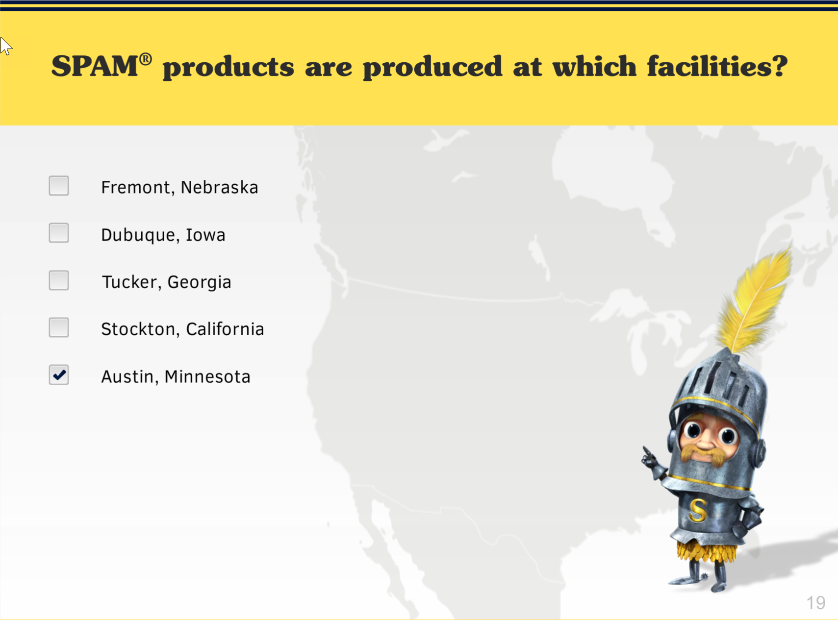 Spam Product Training 2