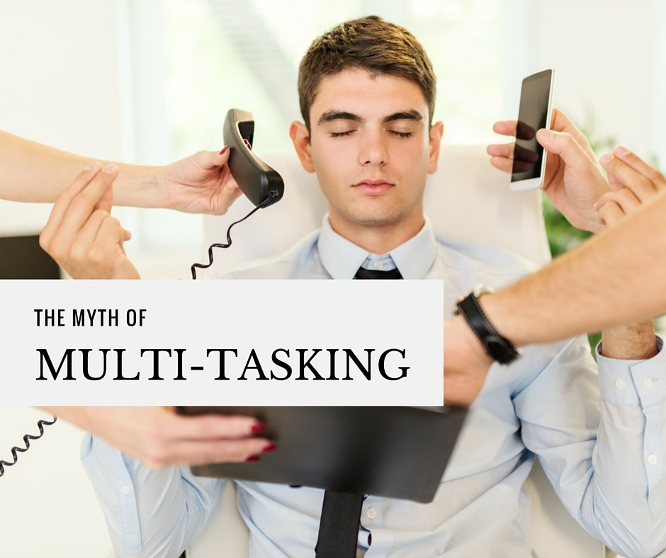The Myth of Multitasking: Another Case for Performance Support