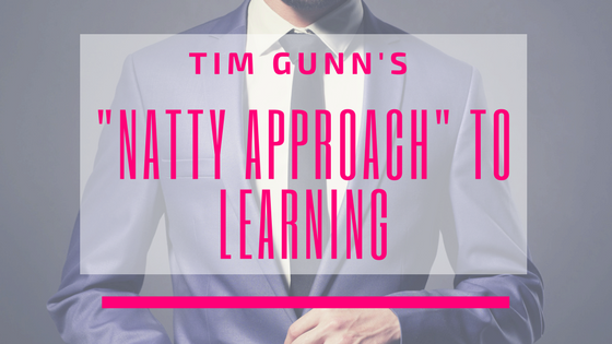 "Tim Gunn's ""Natty Approach"" to Learning"