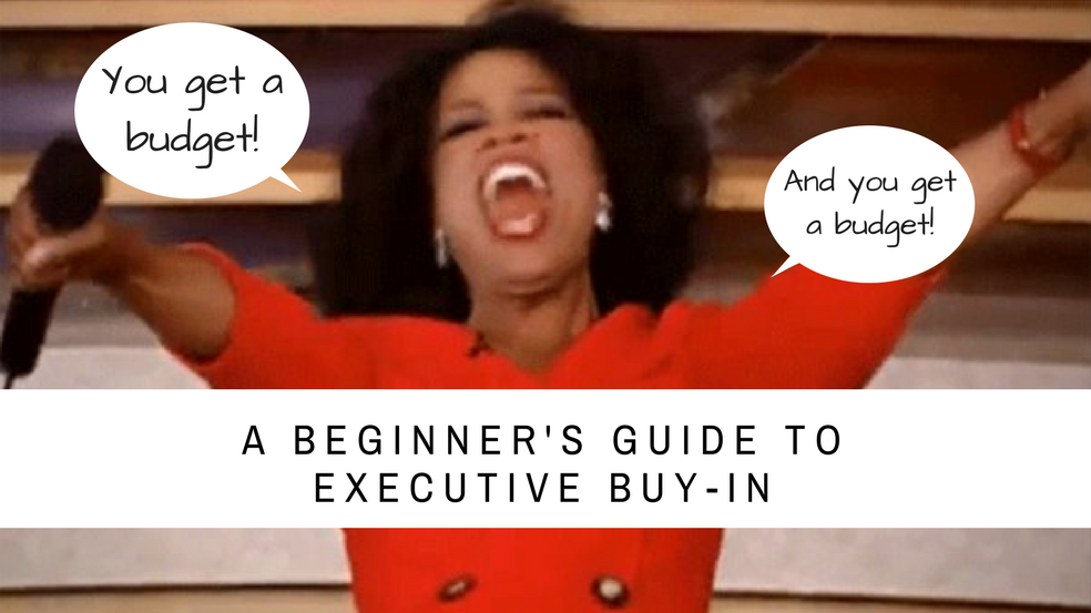 Need A Training Budget? A Beginner's Guide to Executive Buy-In