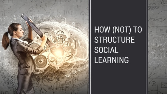 How (Not) To Structure Social Learning