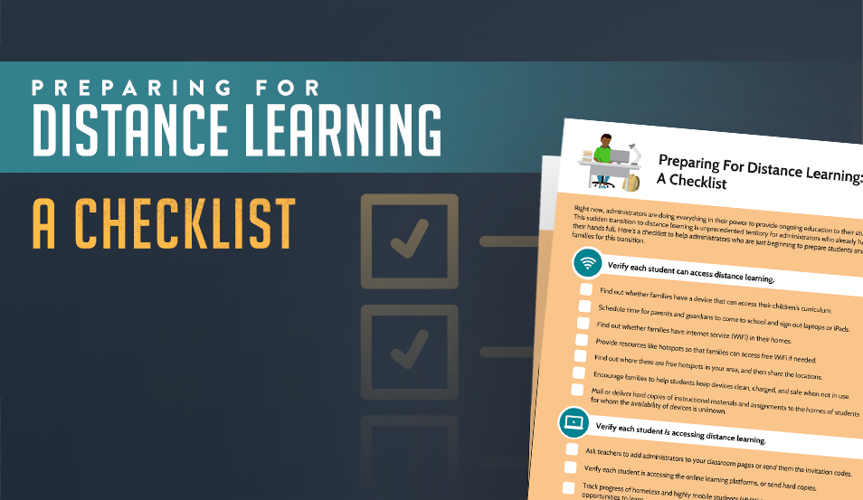 Preparing For Distance Learning: A Checklist